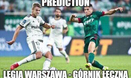 Legia Warsaw – Gornik Leczna prediction